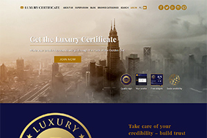 Luxury Certificate